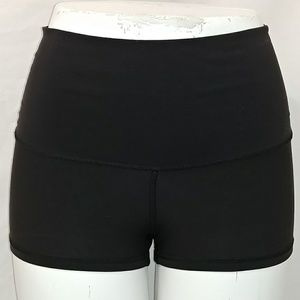 Lululemon high waist roll down shorts